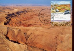 36811 Israel, Maximum 2014 Makhtesh Gadol Ancient Erosion Craters In Israel, Geology - Autres