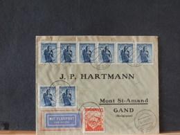 78/338A  LETTRE  AUTICHE   1946 POUR LA BELG. - 1945-60 Briefe U. Dokumente