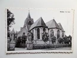 MERKEM - De Kerk - Druk Houtland, A.Cnockaert-Peeters, Merkem - NO REPRO - Houthulst