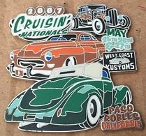CRUISIN' NATIONAL 2007 - MAY 25,26,27 - WEST COAST KUSTOMS - PACO ROBLES CALIFORNIA - USA - CALIFORNIE - US CAR  -   19) - Badges