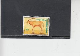 TUNISIA 1989 - Fauna - Mammiferi - Tunisia (1956-...)