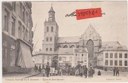 Tienen, Thienen, Tirlemont,Veemarkt Met Zicht Op Sint-Germanus, Zeldzaam!!! - Tienen