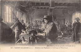 39-SAINT-CLAUDE- ATELIER DE PIPIERS- LE CALIBRAGE ET L'EBAUCHAGE - Saint Claude