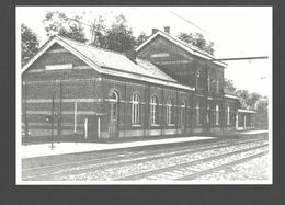 Beervelde - Het Station - Nieuwstaat - Gare - Lochristi