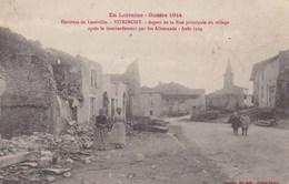VITRIMONT LA RUE PRINCIPALE APRES LES BOMBARDEMENTS AOUT 1914 (dil395) - France