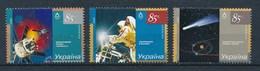 Ukraine 2006 Mi. 782 - 784 Postfr. Weltraum Forschung Satellit Halleyscher Komet Schweißen Im All - Ukraine