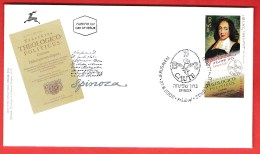 ISRAEL, 2002, Mint First Day Cover ,  Spinoza,   SG1622,  Scan F3916 - Israel