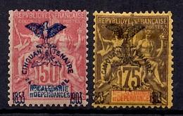 Nouvelle-Calédonie YT N° 78 Et 79 Neufs *. B/TB. A Saisir! - New Caledonia