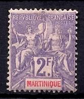 Martinique YT N° 50 Neuf *. B/TB. A Saisir! - Martinique (1886-1947)