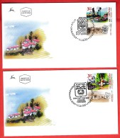 ISRAEL, 2003, Mint First Day Cover , Villages,  SG1662-1664,  Scan F3935 - Israel