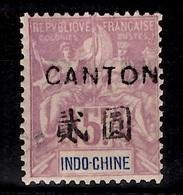 Canton Maury N° 48 Neuf *. B/TB. A Saisir! - Canton (1901-1922)