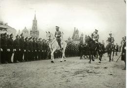 Empereur (Tsar) Nicolas II Passant En Revue Les Cadets Militaires à Moscou Le 29 Août 1912 - Russland