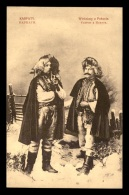 POLOGNE - KARPATY - HOMMES EN COSTUMES - Poland