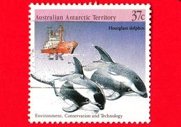 Territorio Antartico Australiano - AAT - Usato - 1988 - Protezione Dell'Ambiente - Delfini - Grey-headed Albatross - 37 - Usati