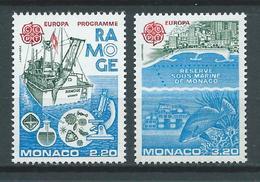 MONACO 1986. N°s 1520 Et 1521 . Neufs ** (MNH) - Neufs