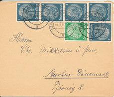 Germany Third Reich Cover Sent To Denmark Berlin - Charlottenburg 24-12-1937 - Allemagne