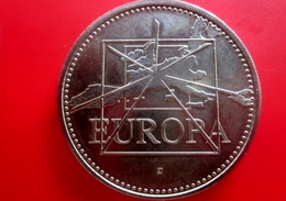 Europa 1997 - Euro Ecu Métal : Cupronickel Diamètre : 41 Mm Poids : 31 G Tranche : Cannelée - France