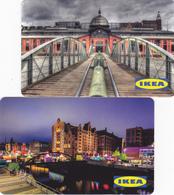2 Gift Cards  - - -  Germany  - - -  Ikea - - - Hamburg - Gift Cards
