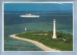 Nouvelle Calédonie L'îlot Amédée Et La Passe De Boulari 2 Scans 20-05-1986 Editions Solaris à Nouméa Paquebot Phare - Nouvelle Calédonie