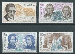 MONACO 1985 . Série N°s 1501 à 1504 . Neufs ** (MNH) - Monaco