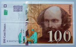 100 Francs Cézanne 1998 - 1992-2000 Dernière Gamme