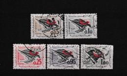 A07360)Algerien 394 - 398 Gest. - Algerien (1962-...)