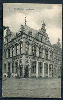 "CPA S/w AK Belgien Saint-Nikolas 1915 Allemagne Feldpost ""Saint-Nicolas-La Poste,belebt""1 AK Used - Saint-Nicolas"