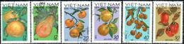 """Vietnam – Nord 1969  """"Local Fruits""""  6v  Quality: 100% - Vietnam"""