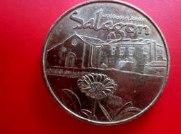 Jeton Touristique - Monnaie De Paris - Salagon -Musée Et Jardins-Monnaie Jeton & Médaille France Touristique - Monnaie De Paris