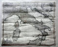 Nova Et Exactissima Totius Italiae Sardiniae Et Corsicae M. Seutter 1740 Carta - Altre Collezioni