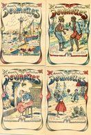 Nouvelles Collection De Devinettes - Lot De 4 Carnets Avec Chacun 9 Devinettes (personnage à Trouver ) - Vieux Papiers