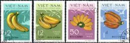 "Vietnam – Nord 1970 ""Bananas"" 4v Quality:100% - Vietnam"
