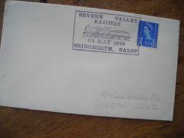 1970 Severn Valley Railway Bridgnorth Angleterre - Marcophilie