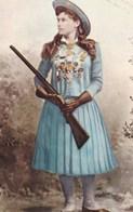 """ANNIE OAKLEY """"LITTLE MISS SURE SHOT""""(dil396) - Personnages Historiques"""
