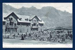 05. Le Lautaret. Grande Halte De Chasseurs Alpins Vers L'un Des Chalets. 1904 - France