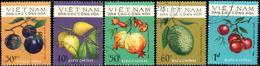 "Vietnam – Nord 1975 ""Fruits"" 5v ( Incomplete ) Quality:100% - Vietnam"