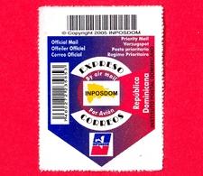 REPUBBLICA DOMENICANA - Usato - 2005 - Posta Prioritaria - Espresso - P. Aerea - INPOSDOM - Repubblica Domenicana