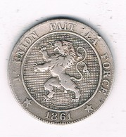 5 CENTIMES 1961  BELGIE /4574G/ - 03. 5 Centimes