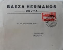 Marruecos  Carta - Spanish Morocco