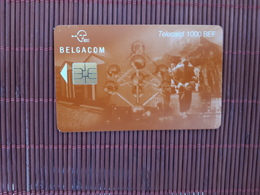 Phonecard Atomium1000 BEF Used II 31.03.2002  Only 15.000  Made Rare - Belgium