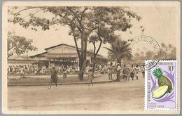 Cameroun  Douala  Vue Du Marché - Cameroun