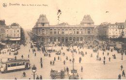 Bruxelles - Brussel  - Gare Du Nord Et Place Rogier - Spoorwegen, Stations