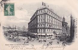 13 / MARSEILLE / Grand Hôtel De Genève,----E.GLOGG-MAILLE,Propr. - Marseilles