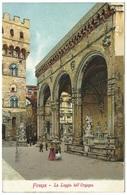 Firenze - La Loggia Dell' Orgagna - 1903 - Ferd Gobbato - Firenze