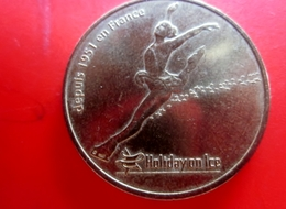 Holiday On Ice -2011- Jeton Touristique-Monnaie De Paris-Jeton & Médaille France Depuis 1951 En France - Monnaie De Paris