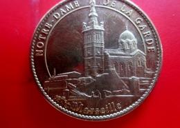 Notre Dame De La Garde Marseille- Paz Paix - Jeton Touristique-Monnaie De Paris-Jeton & Médaille France - Non-datés