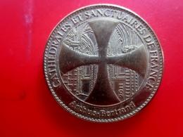 Arthus Bertrand- Sacré Cœur De Montmartre Cathédrales Et Sanctuaires De France-2011 -Jeton Touristique--Jeton & Médaille - 2011