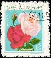 "Socialist Republic Of Vietnam 1980 ""Roses"" 1v ( Incomplete )  Quality:100% - Vietnam"
