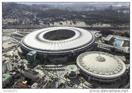 Maracana Stadium - Rio Do Janeiro (Brasil)  Postcard - Sede Of World Cup 2014 - Soccer