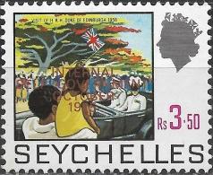 SEYCHELLES 1975 Internal Self-Government - 3r50 Visit Of The Duke Of Edinburgh MH - Seychelles (...-1976)